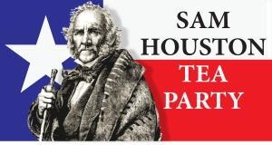 Sam Houston Tea Party logo