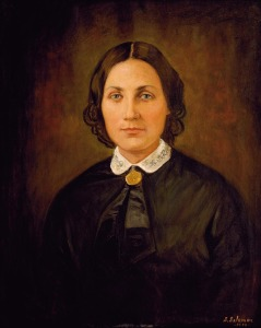 Margaret L. Houston,.  Born in Alabama on April 11, 1819,  Margaret married General Sam Houston in 1840. Margaret was a wife, mother, daughter, sister, poet, musician, strong in her faith, and devoted to her husband and children.