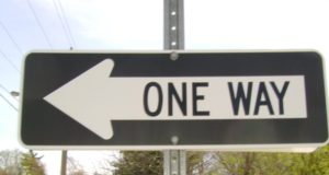 one-way